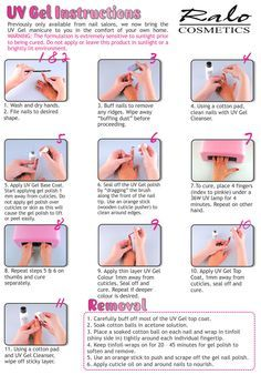how to do gel nails stepstep  google search  gel