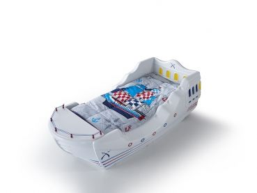 Segelboot kinderbett society besondere kinderbetten pinterest - Besondere kinderbetten ...