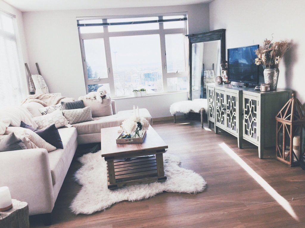 Marissa Laces Apartment. Living Room MirrorsSmall Living RoomsSmall ...