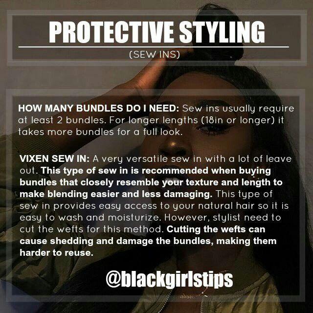Protective styling black hair via @blackgirlstips | ᏴᏞᎪᏟK ...