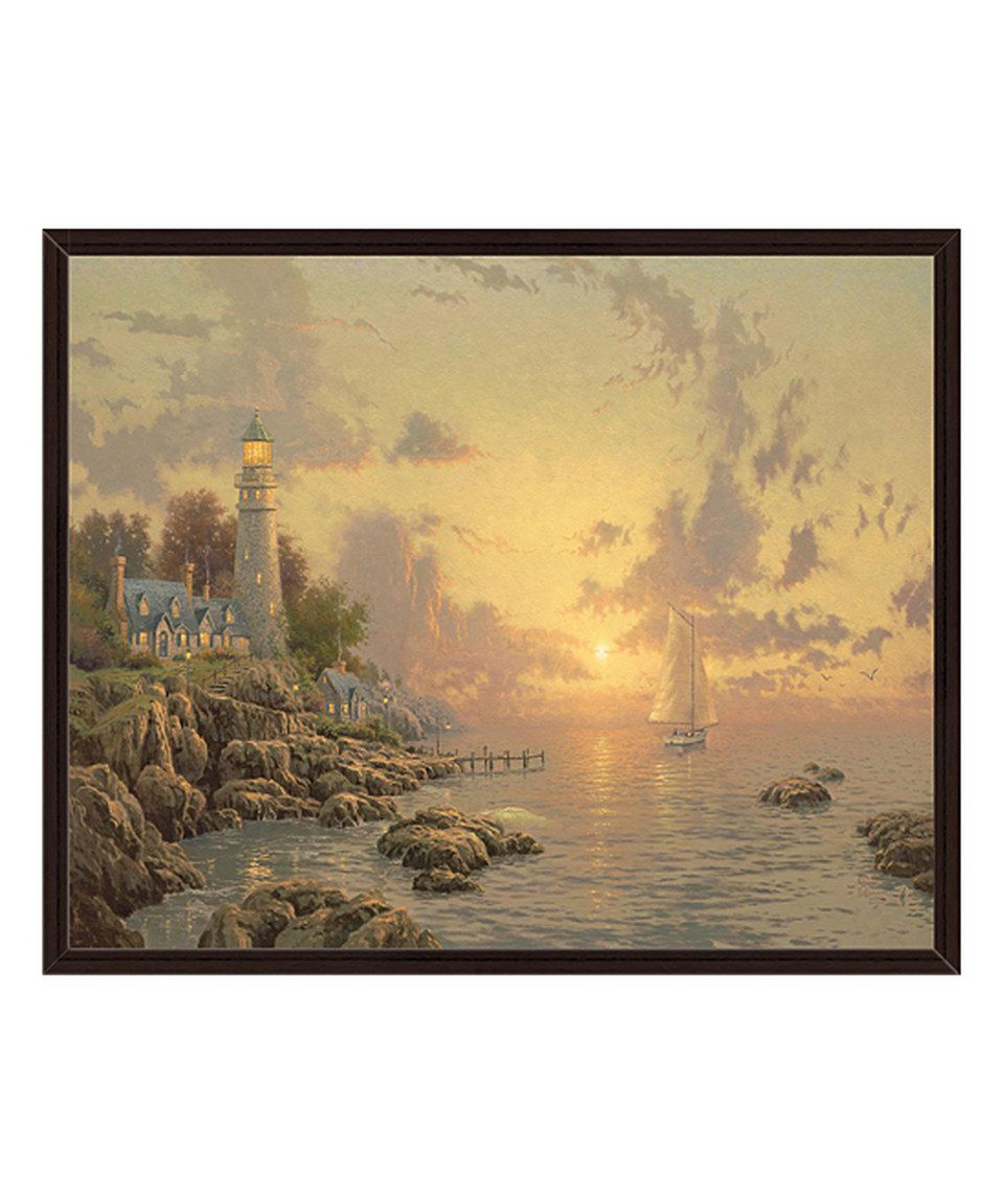 Look at this #zulilyfind! The Sea of Tranquility Framed Gallery ...