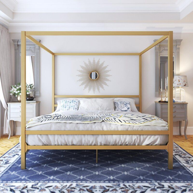 Dubay Canopy Bed Canopy Bed Frame Metal Canopy Bed Bed Frame And Headboard