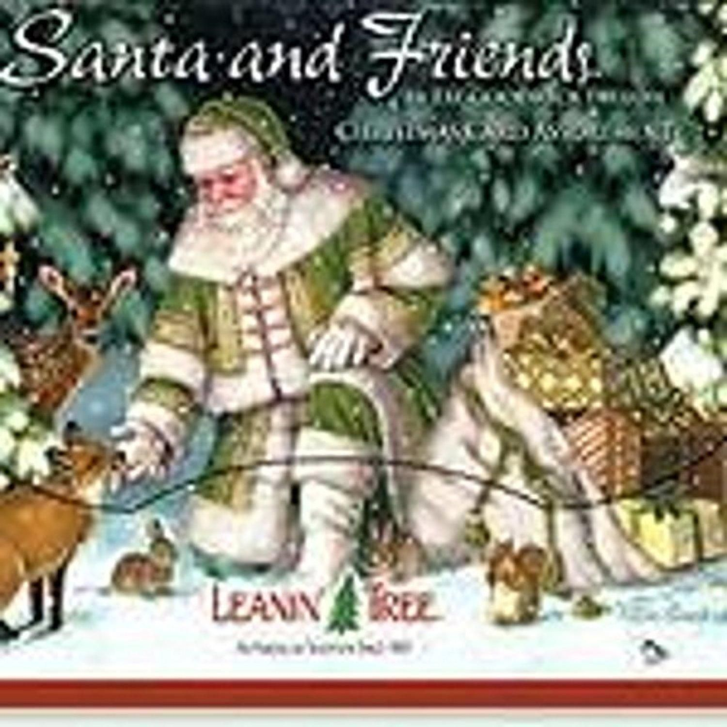Leanin\' Tree Santa & Friends Christmas Boxed Cards - Brought to you ...