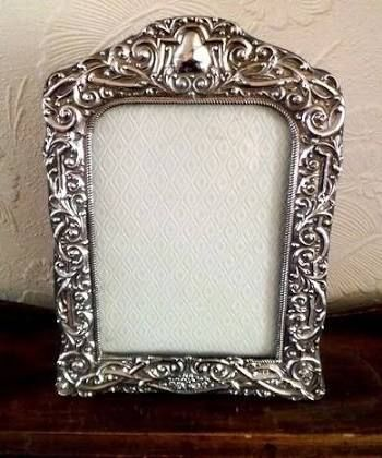 antique silver photo frames - Google Search | frame | Pinterest