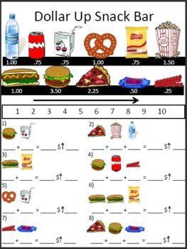 Dollar Up Method + worksheets