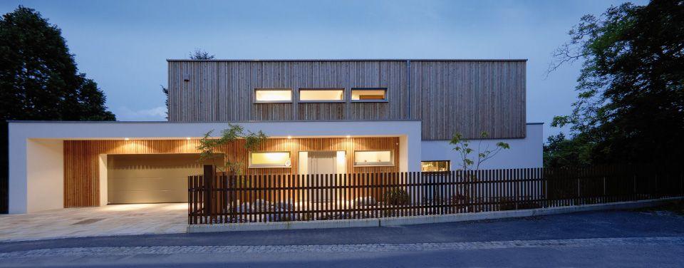 Moderne häuser mit holz  Das Pultdach modern interpretiert in dynamischer ...
