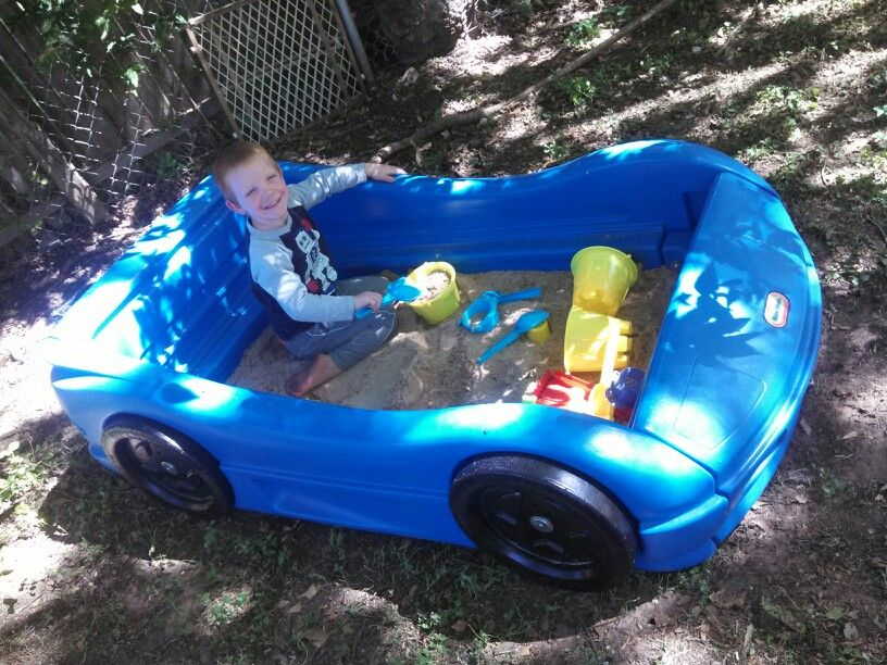 Race car bed converted into sandbox ) in 2019 Race car