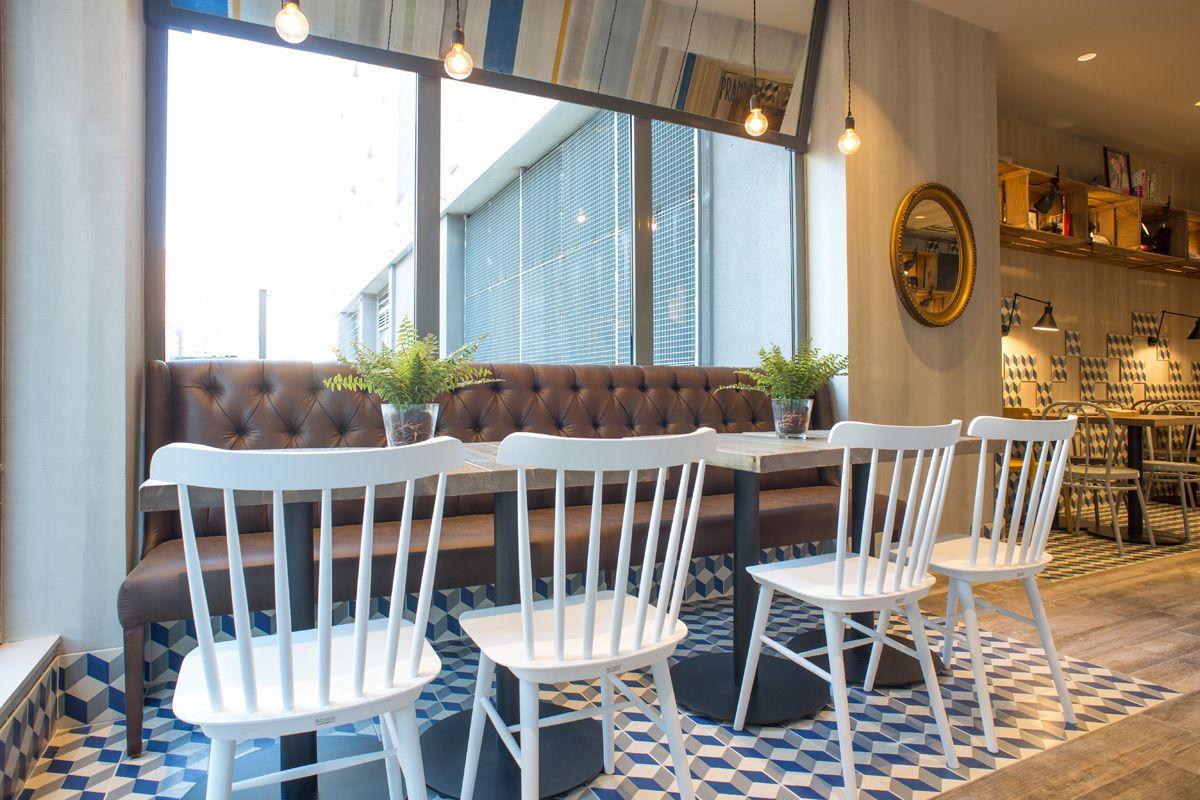 Proyecto Prandium Hotel 1900 G Ell 1 20x20cm Pavimento  # Muebles Ribadeo