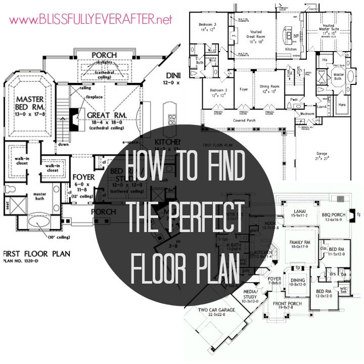 how to find the perfect floor plan some good tips in this ForHow To Find The Perfect House Plan