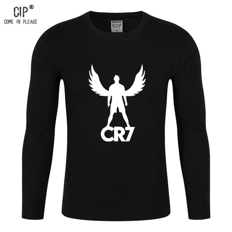 dbc72aefe329 100% Cotton Ronaldo Tee Shirt CR7 T-shirt For Boys Fashion Girls 2 ...