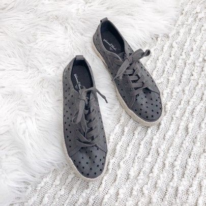 250d0a4685 Blogger Sarah Lindner of The House of Sequins star print sneakers under $20  #targetstyle