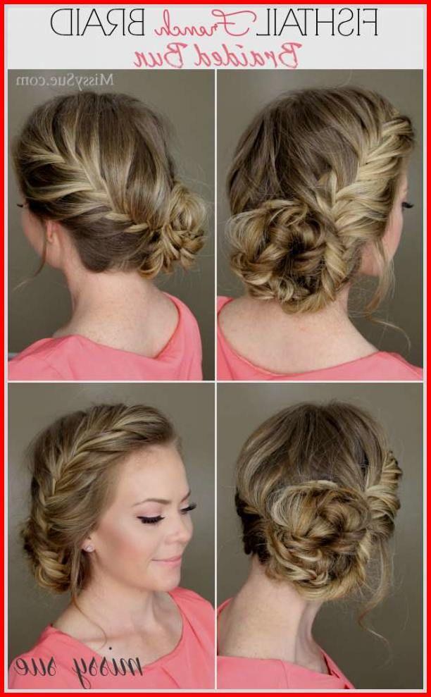 Trendy Fishtail Braided Hairstyles Short Hair Tutorials