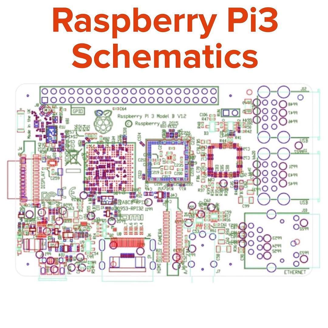 something we loved from instagram raspberry pi3 schematics partial schematics and mechanical drawings [ 1080 x 1080 Pixel ]