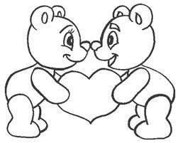 Resultado De Imagen Para Dibujos Para Colorear Faciles De Corazones Love Coloring Pages Bear Coloring Pages Valentine Coloring Pages
