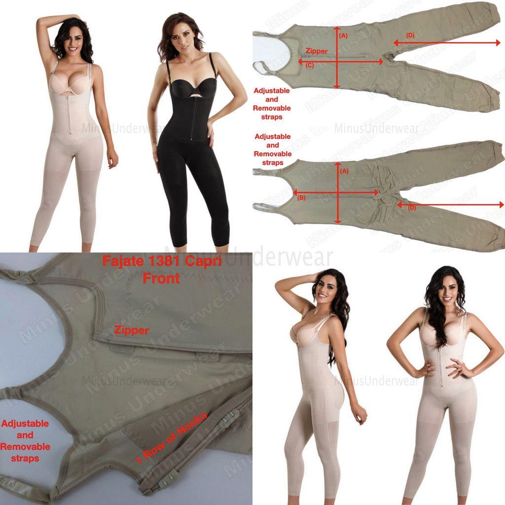 Faja colombiana AS Enterizo térmico piernas firmes Fajate Thermal Body Shaper