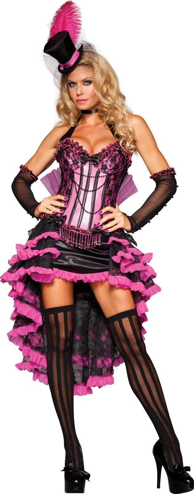 Burlesque Beauty Adult Costume from Buycostumes.com