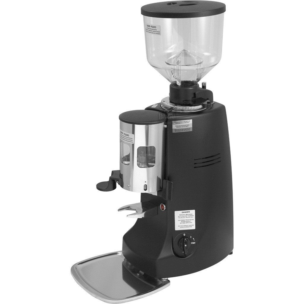 Mazzer Robur Commercial Espresso Grinder Black
