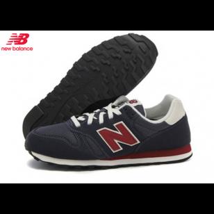 Men's/Women's New Balance 373 Classic Retro Running Shoes Navy/Red ...