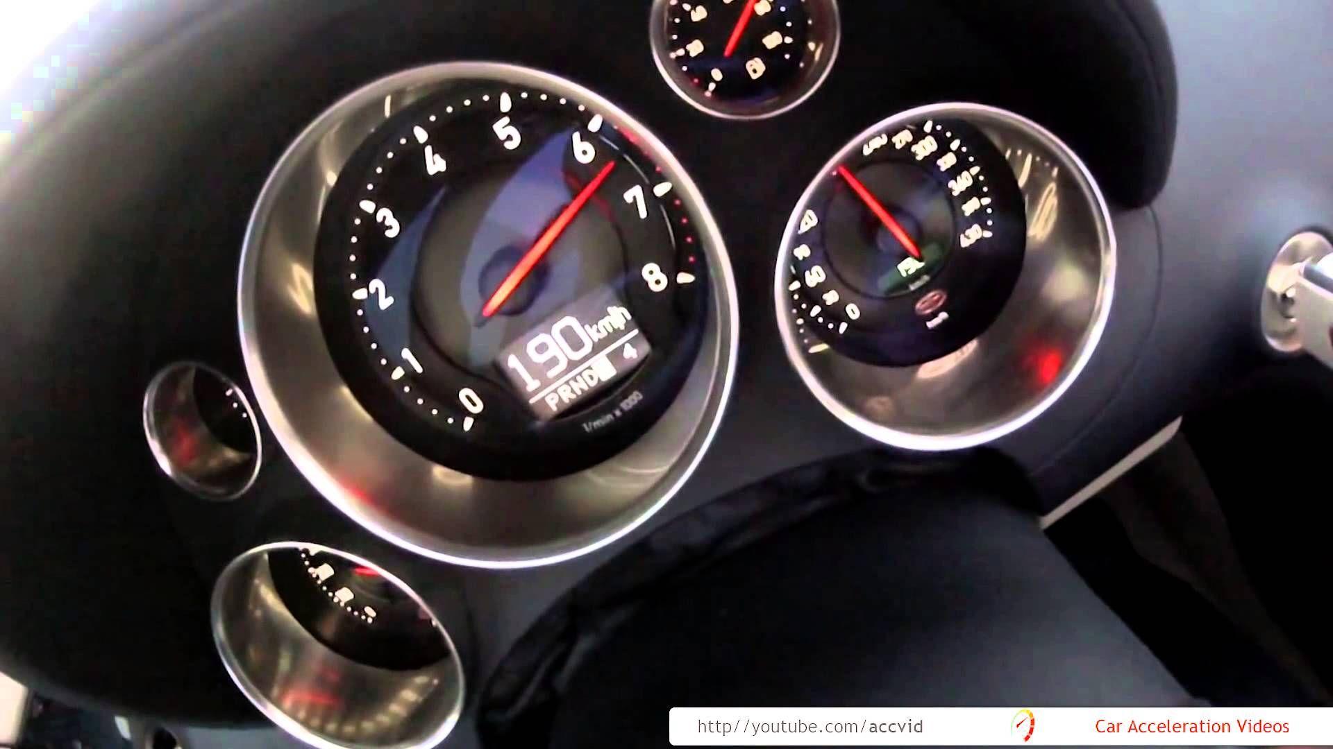 Bugatti veyron acceleration