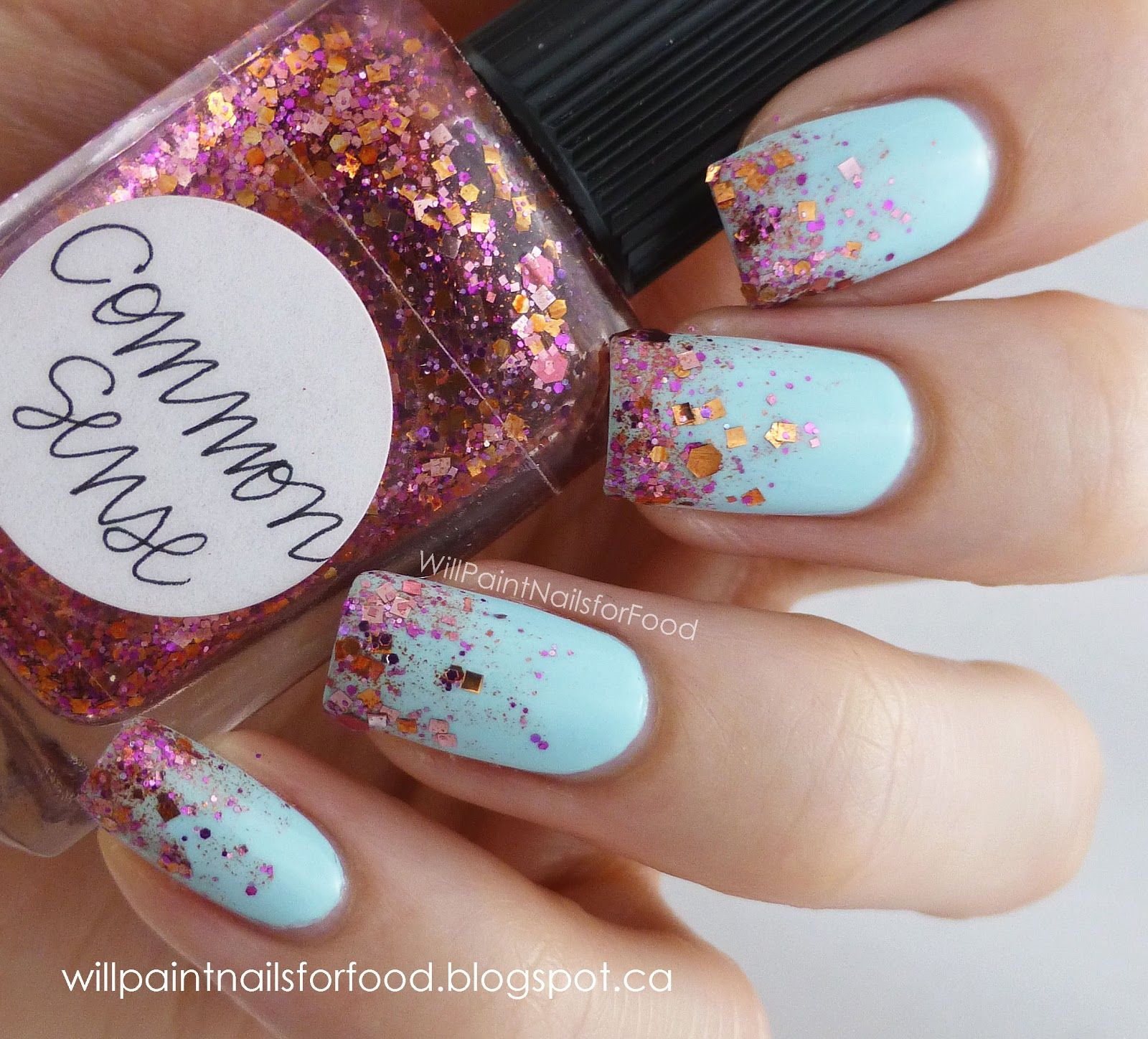 Will Paint Nails for Food Lynnderella Common Sense...holy