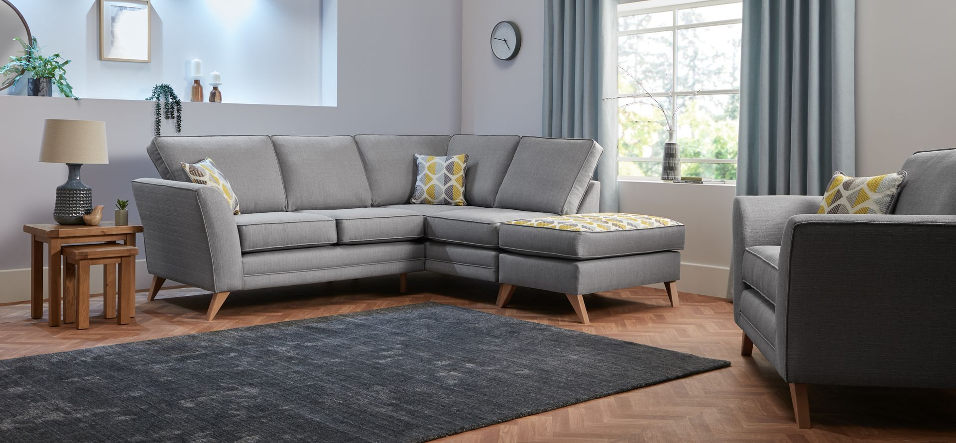 Helios 2 Corner 1 RHF Chaise Standard Back in 2019 | Sofa ...
