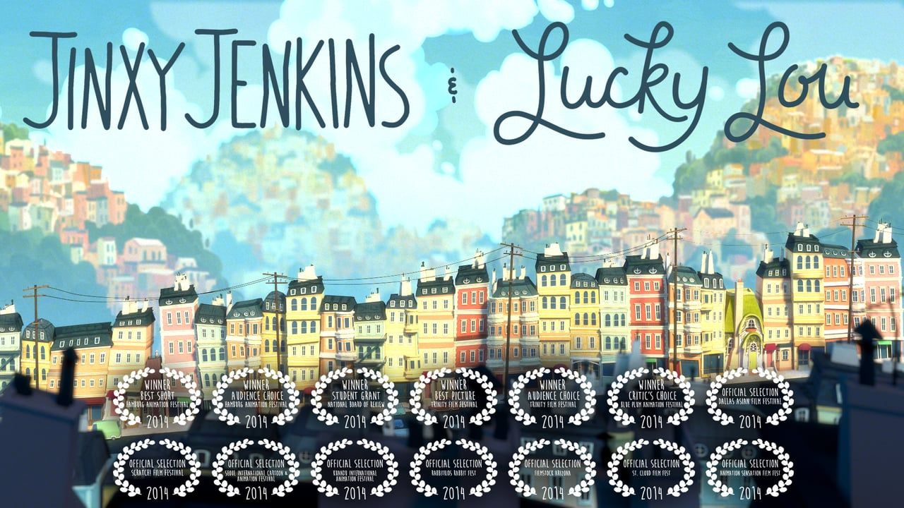 """Filmmakers Michael Bidinger and Michelle Kwon bring us this wonderfully lighthearted animated short film called """"Jinxy Jenkins, Lucky Lou,"""" when two of the ..."""