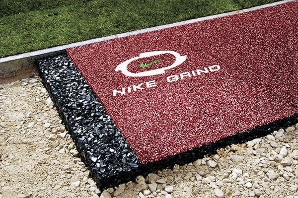 Nike Grind резиновое покрытие
