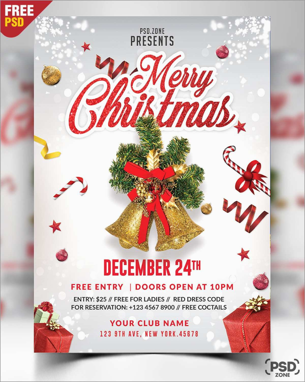 Elegant Free Christmas Flyer Templates Psd Best Of Template Throughout Ch Photoshop Christmas Card Template Free Christmas Flyer Templates Christmas Cards Free