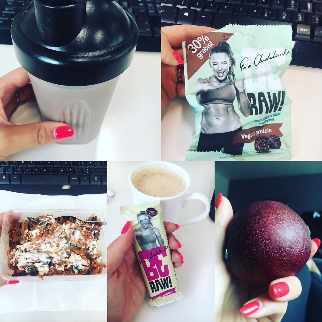Dzień 1️⃣8️⃣/9️⃣0️⃣ . Podsumowanie dnia: - dieta 🥗🍛🥙🍎🍓- ✔️ - trening 💪🤸🏻♀️🏋🏻♀️🧘🏻♀️- ✔️ - wypita w...