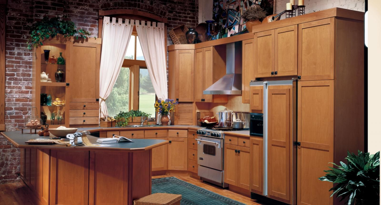 Holmes Door Style   Craftsman style kitchen, Kitchen ...