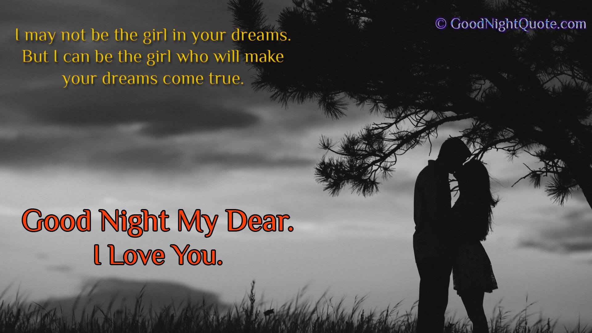 Cute Good Night Love Quote For Boy Friend Good Night Quotes Images Romantic Images Colorado Engagement Photography