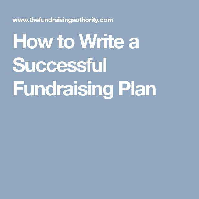 12 month fundraising plan