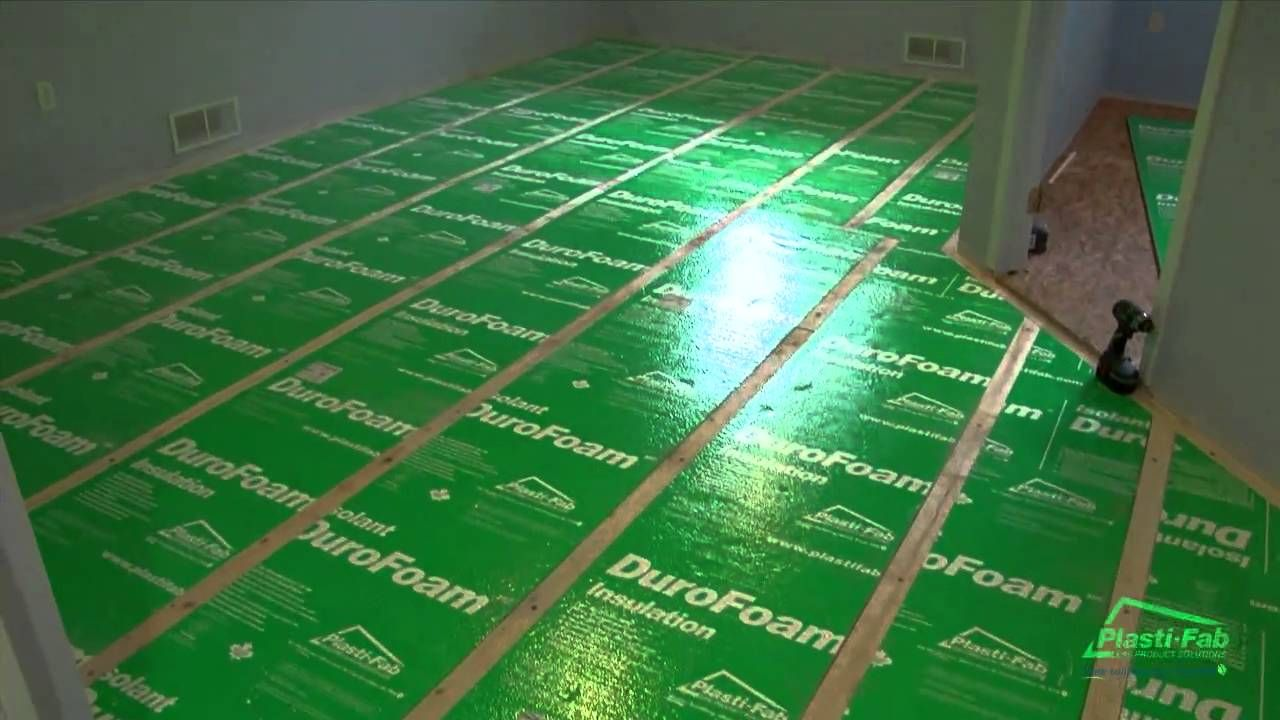 How To Insulate a Basement Floor with PlastiFab's