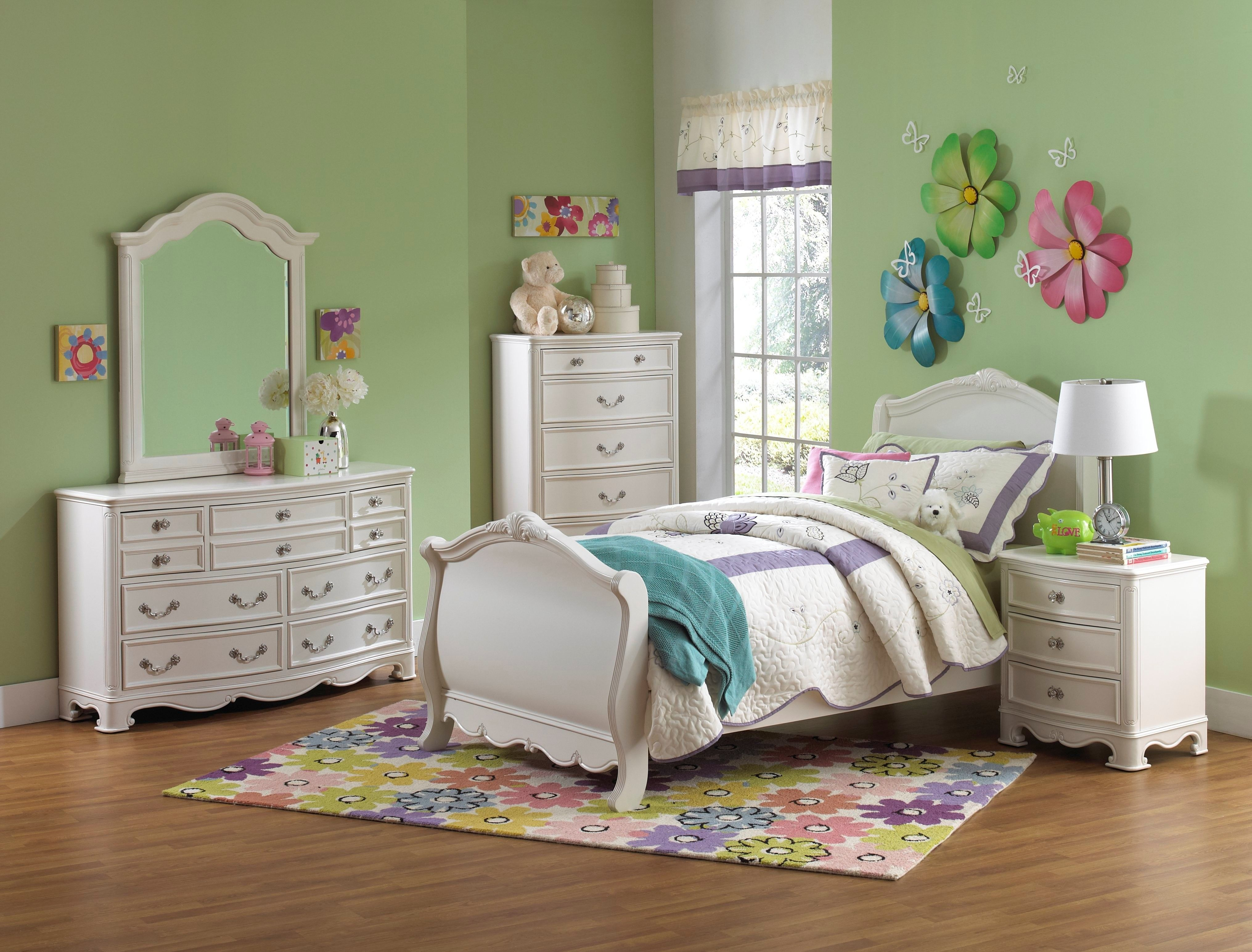 Decorated White Youth Bedroom Arrow Furniture Youth