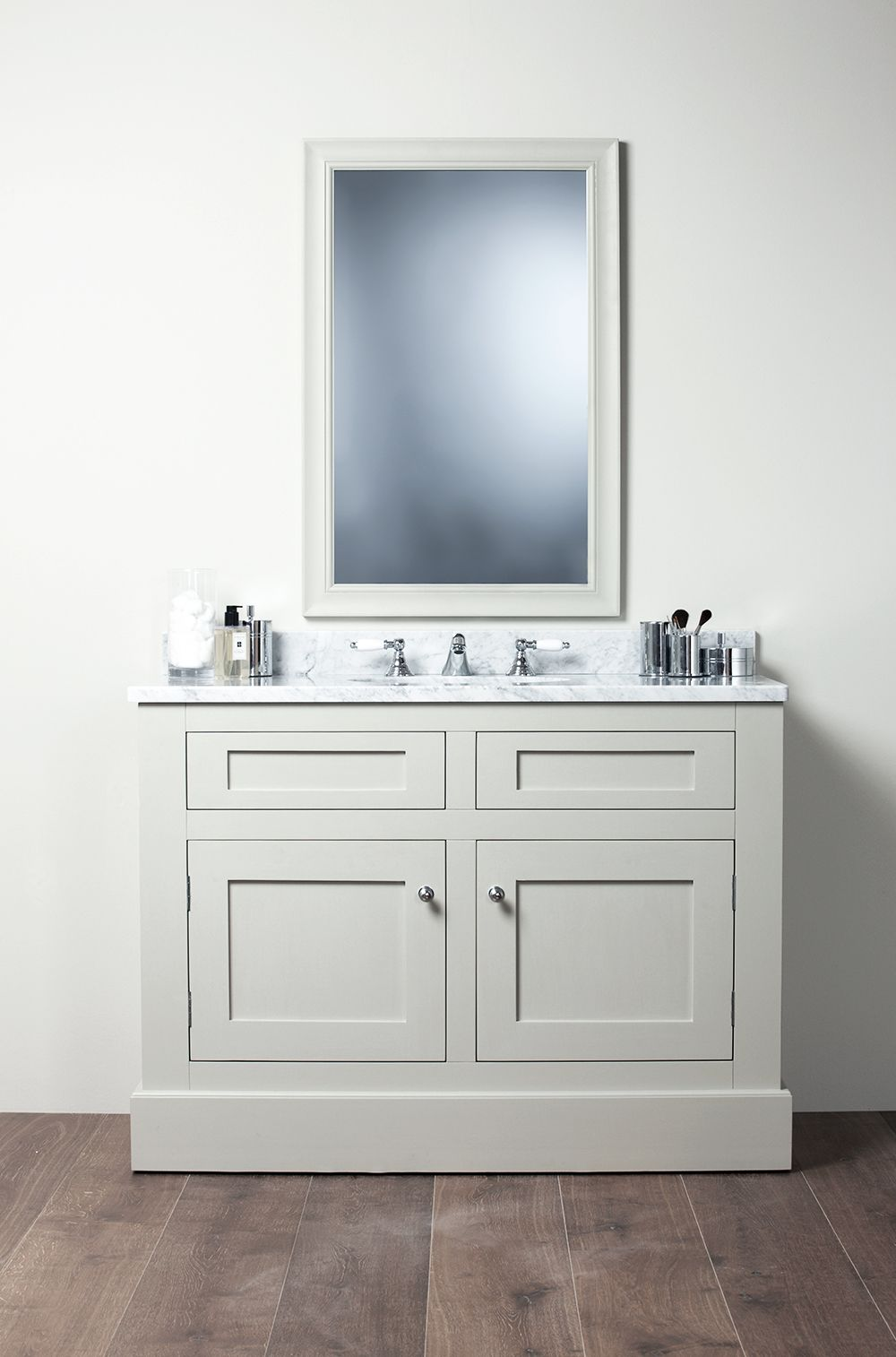Bathroom sink cabinets white - Shaker Style Bathroom Vanity Unit Shaker Bathroom Vanity Unit Under Sink Cabinet Ebay Home