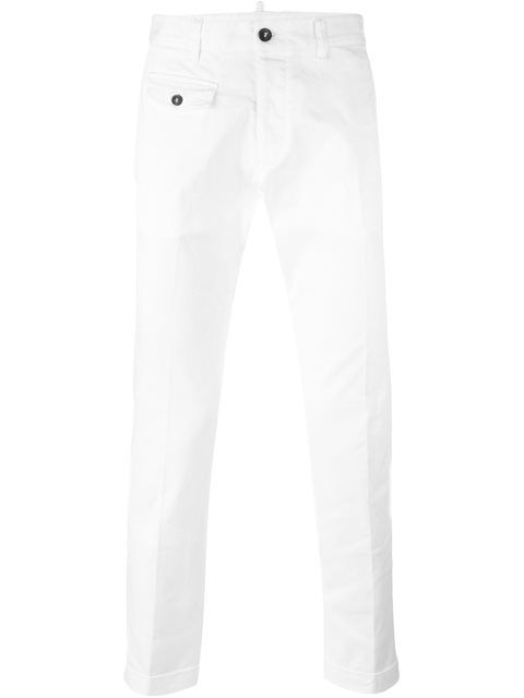 DSQUARED2 'Tizzy' Chinos. #dsquared2 #cloth #chinos