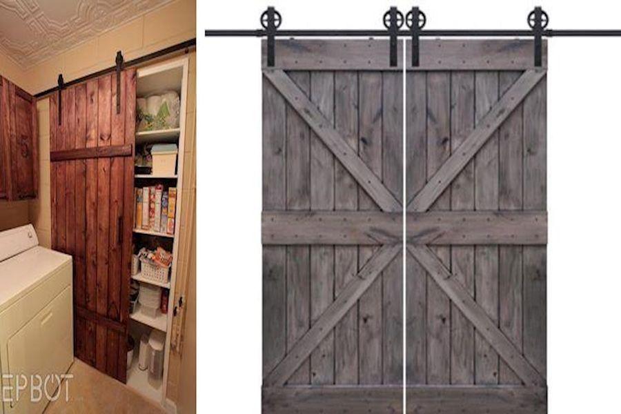 Double Barn Door Hardware Barn Door Track And Rollers Buy Barn Doors For Homes Tall Cabinet Storage Storage Cabinet Storage