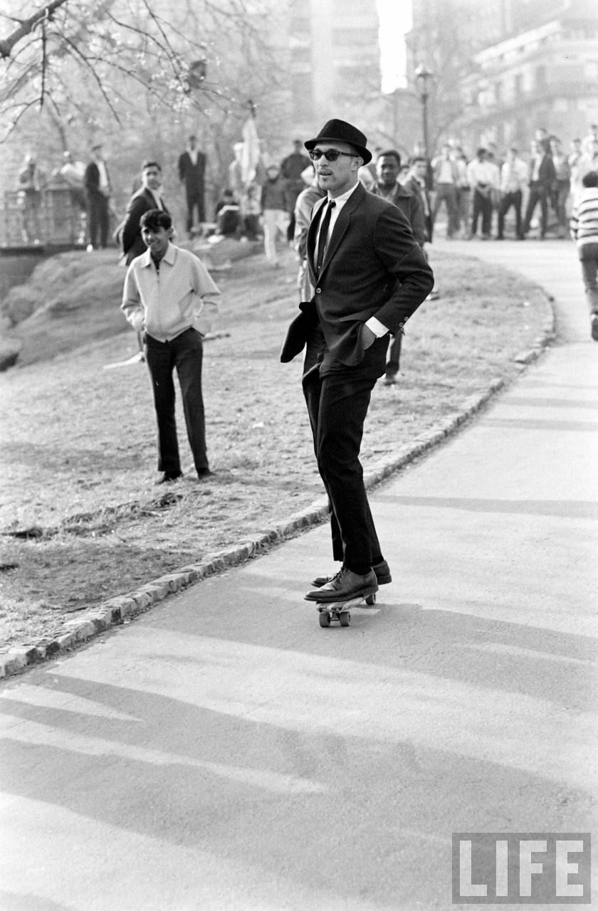 Skateboarding in New York City 1965. https//t.co