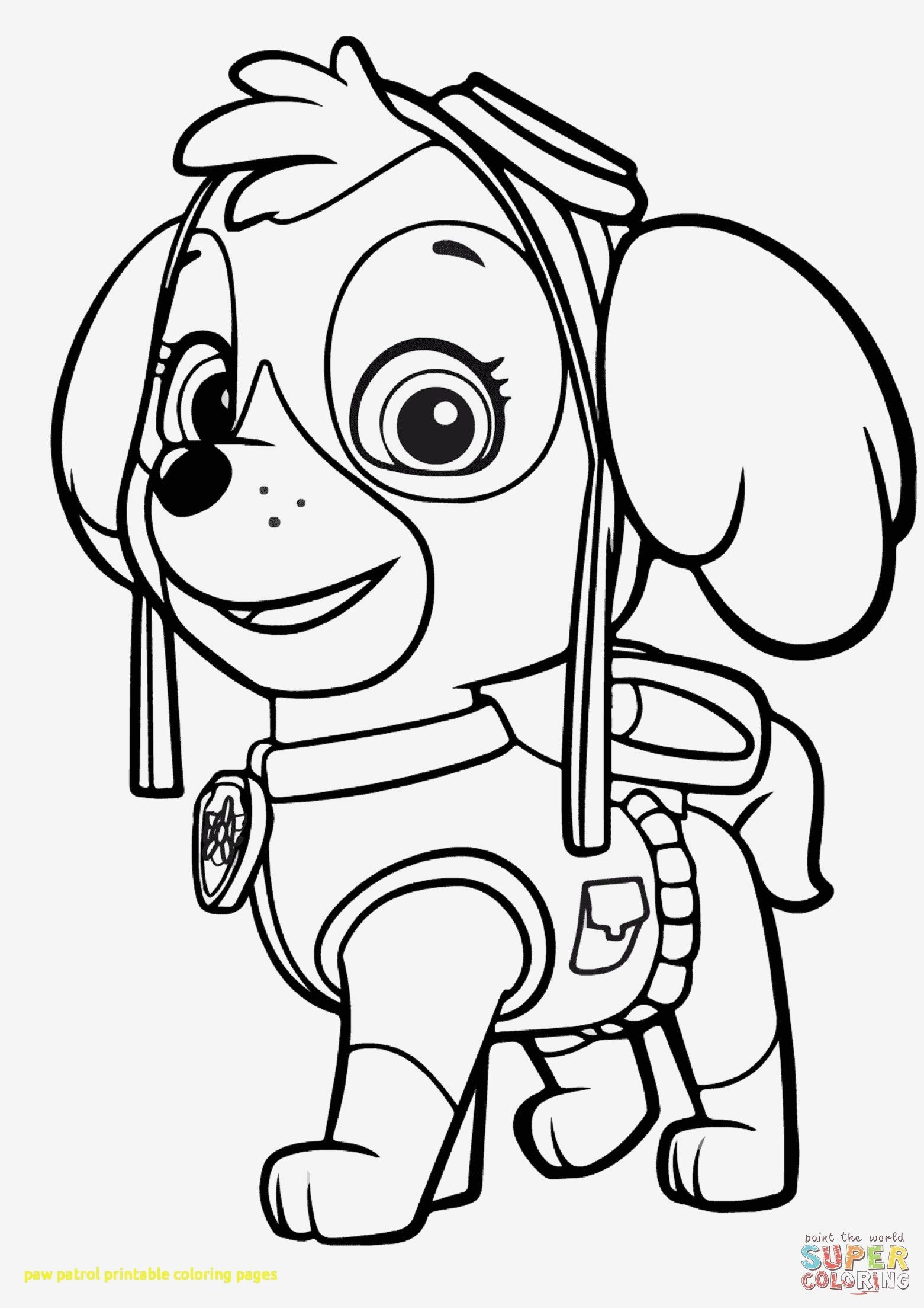 Paw Patrol Coloring Sheets New Photography Free Paw Patrol