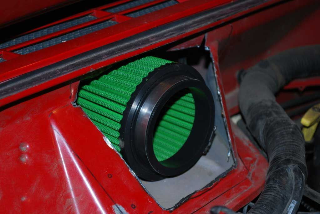Cherokee Comanche Cowl Intake Kit Xj Mj 91 01 With Pre Filter