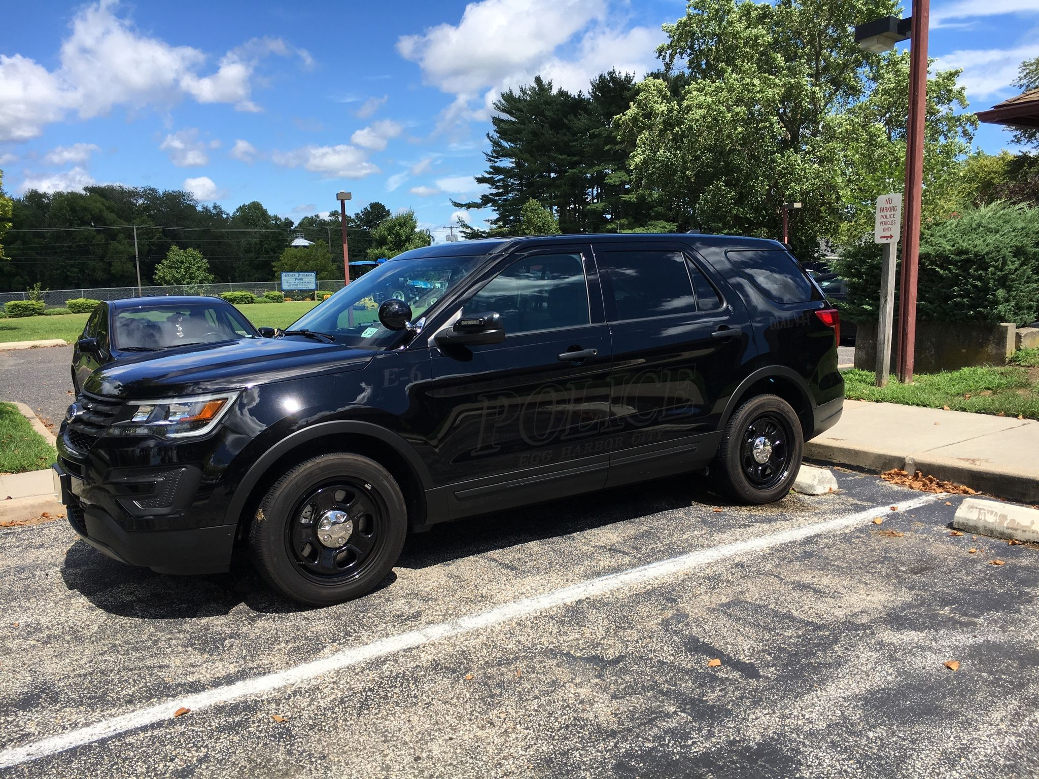 Egg Harbor City Police Department Ghost Ford Interceptor Suv New