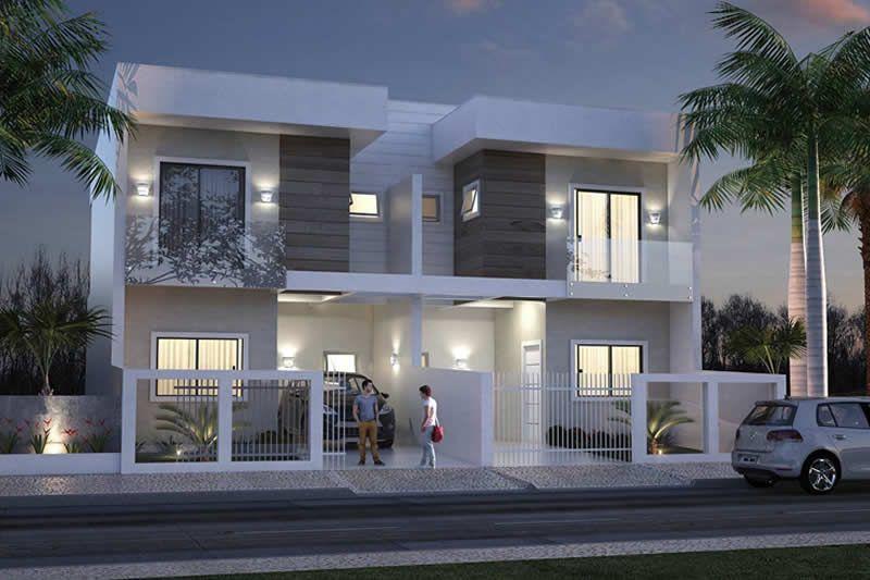 7 casas adosadas modernas - Ventajas y desventajas   Architecture ...