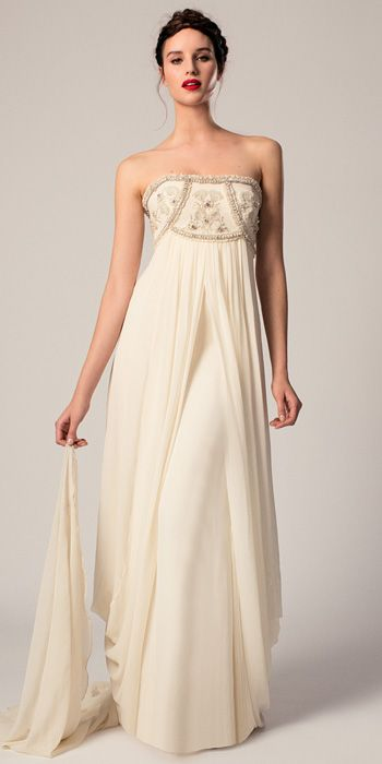 Absolutely LOVE this dress. Temperley Bridal Spring 2015 Collection - Temperley Bridal from #InStyle