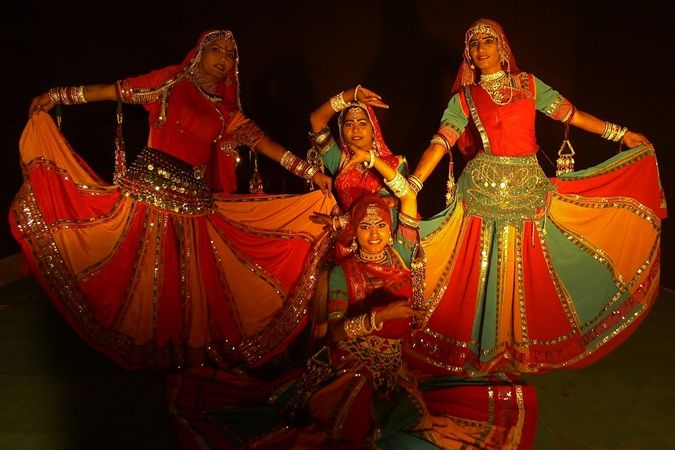 Dress - Ghoomar Dancer