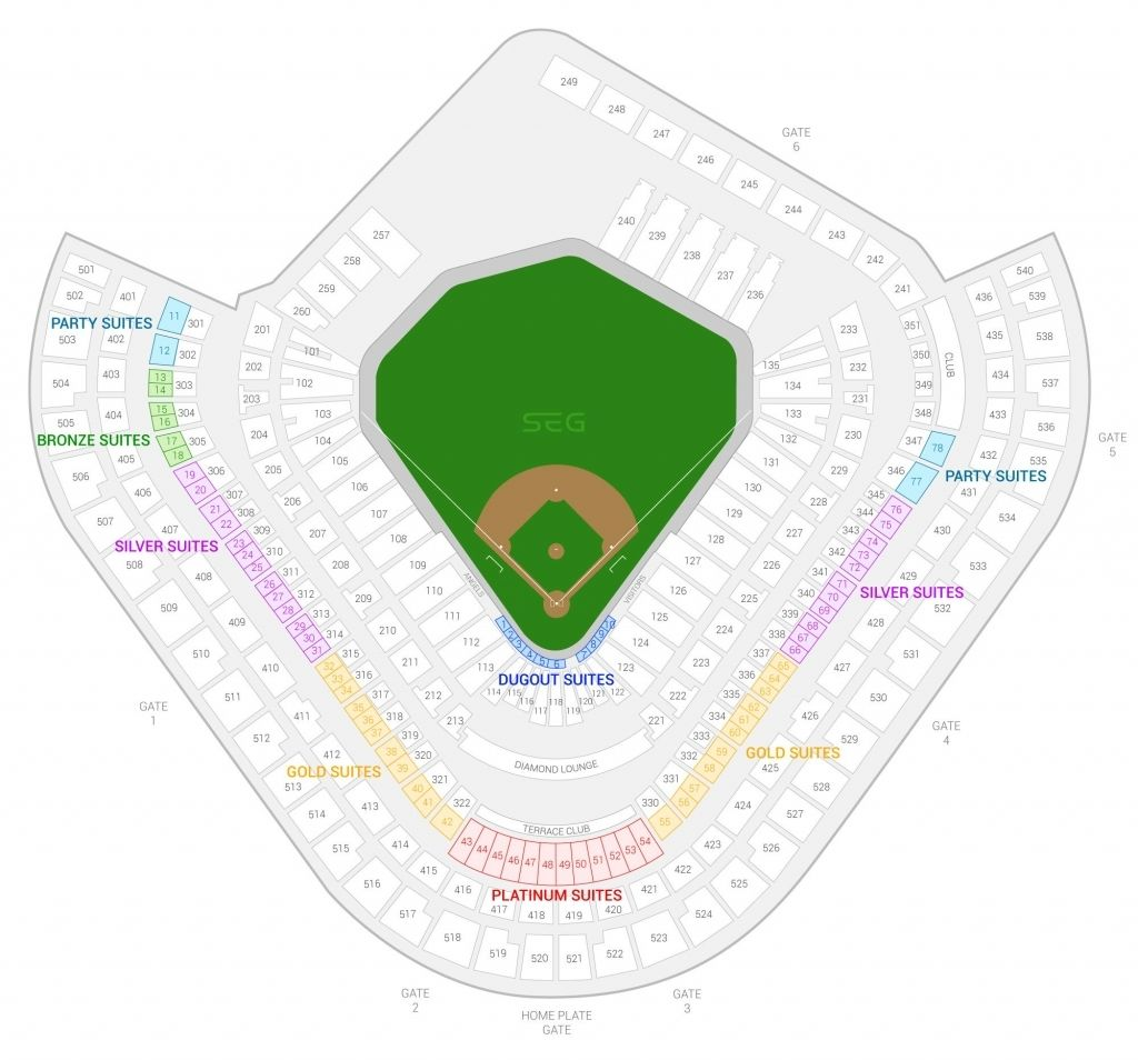 The Most Awesome Angel Stadium Seating Chart With Seat Numbers Di 2020