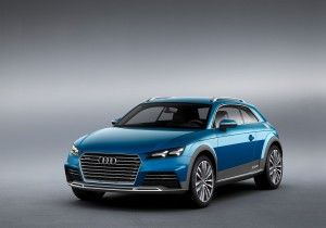 Audi at the 2014 North American International Auto Show