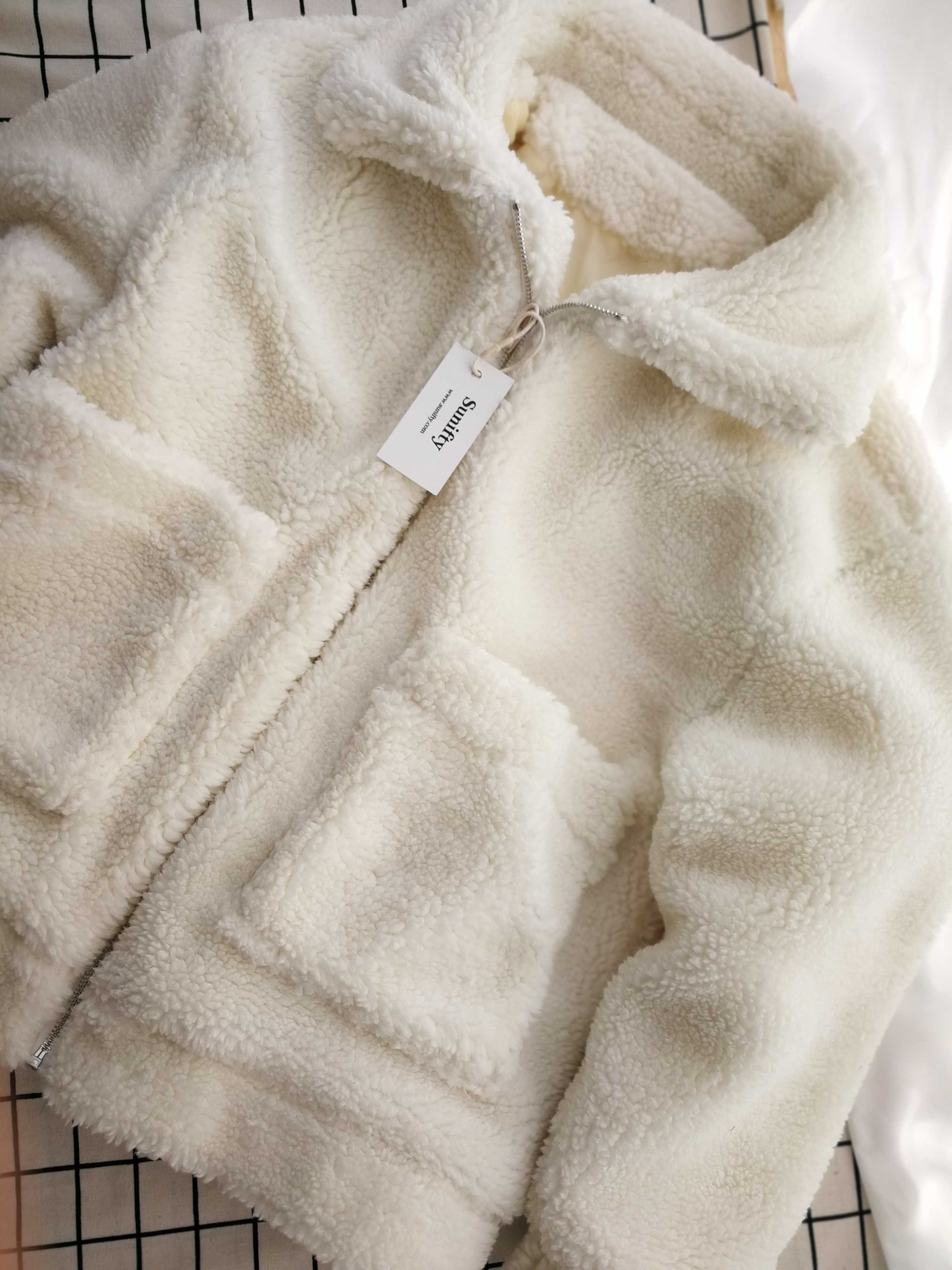 58699fb0292 Buy oversized teddy bear coat, Get the button up suede skirt at 30% OFF  faux fur coats and jackets cream white teddy fur jacket fluffy coat women's  coats ...