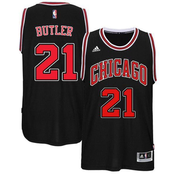 8b0b38a7 Chicago Bulls 21 Jimmy Butler Swingman Alternate Black Jersey Bulls 21  Jimmy Butler 2015 New Alternate Black Jersey ...