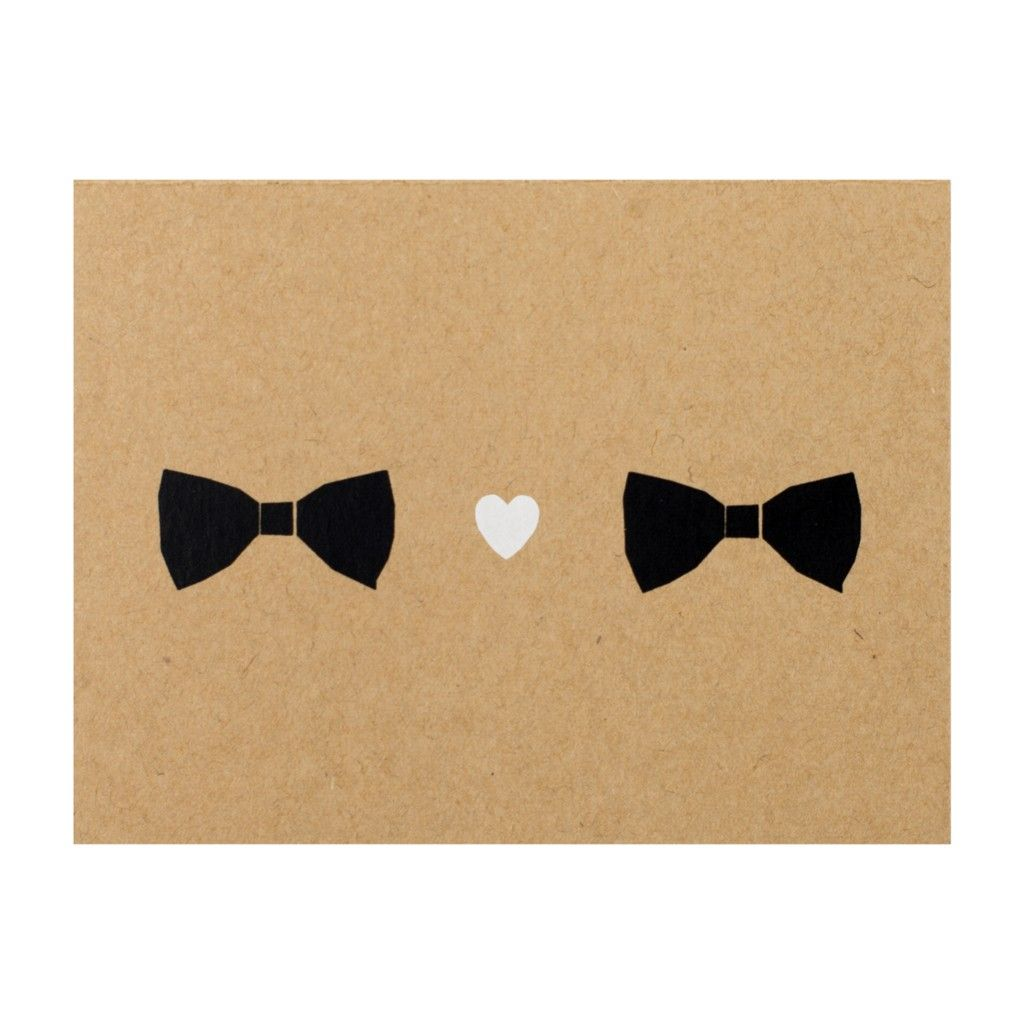 Tell him you love him with this simple but sweet greeting card