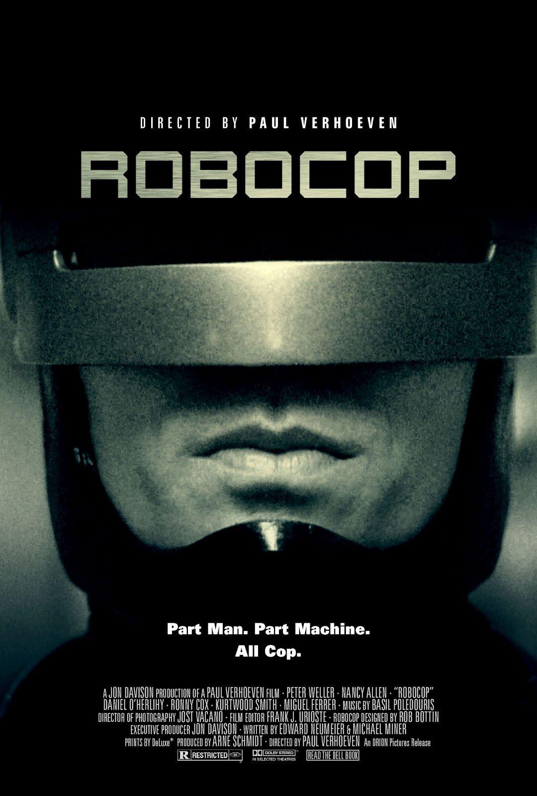 ROBOCOP | Movies | Pinterest | Cine, Películas y El tiempo